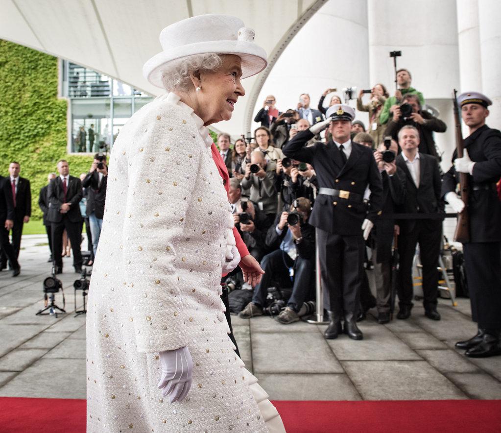 Queen besucht Deutschland