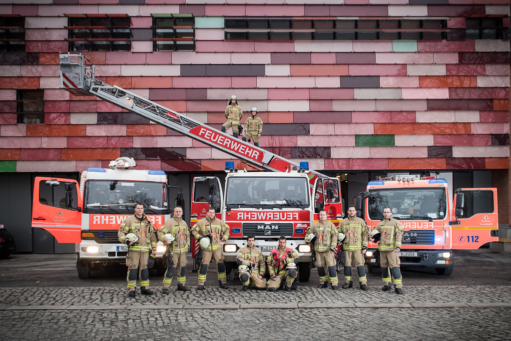 Berliner Feuerwehr Tiergarten